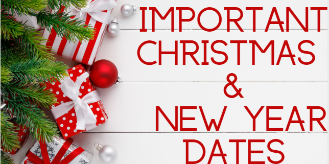 Christmas dates logo